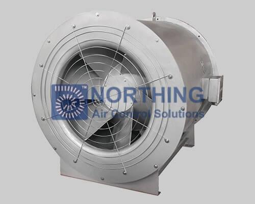 Medium Pressure High Efficiency Mixed Flow Fan Qemx